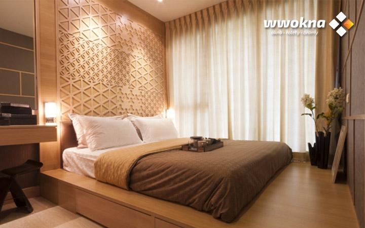 Zasłony Flex sypialnia
