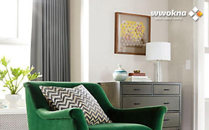 Zasłony Moderno w salonie