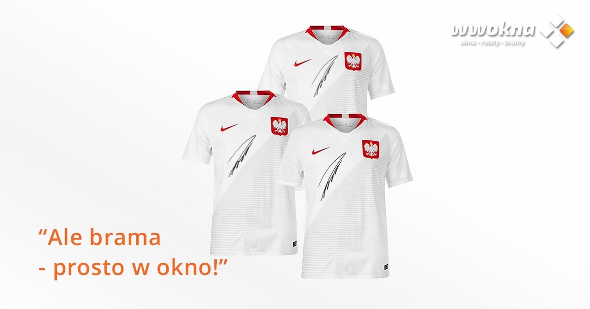 Koszulki z autografem Łukasza Piszczka - ambasadora KRISPOL